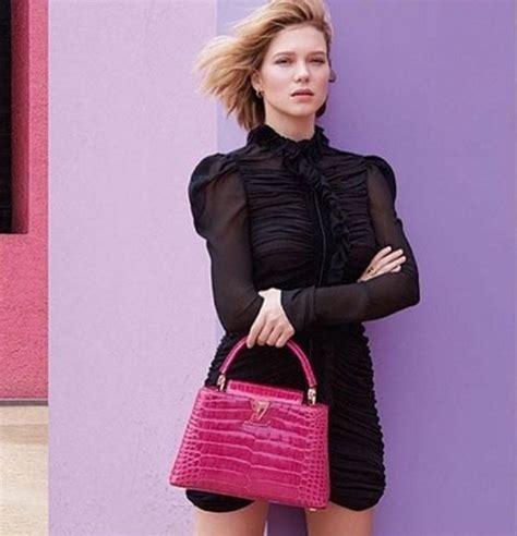 lea seydoux genuine instagram see l 233 a seydoux s new louis vuitton caign fashion