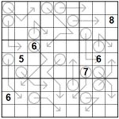 printable arrow sudoku sudoku variants magazine