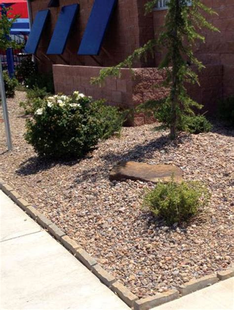 river rock flower bed river rock 1 5 landscape supply