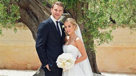 Hochzeit Manuel Neuer bayern torwart manuel neuer feiert seine traumhochzeit