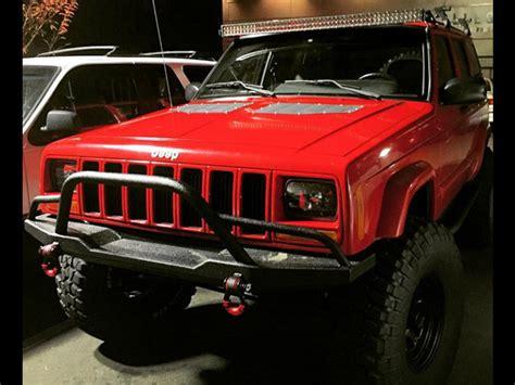 prerunner jeep jeep xj winch bumper evolution prerunner 84 01