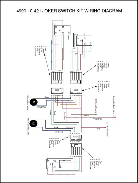 wiring diagram electric windows k