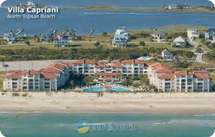Ocean Shores Vacation Rental Homes - villa capriani resort oceanfront condo vacation rental condos in north topsail beach north