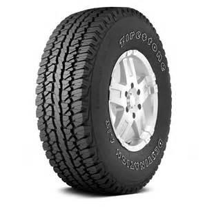 Firestone Suv Tires Reviews Firestone Tire 255 70r 16 109s Destination A T All Season
