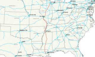 interstate map interstate 55 amerifo info on everything america