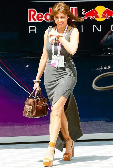 Sharrats Dressed Up Book Tour by Carol Vorderman Flashes Some Leg In A Tight Grey Maxi