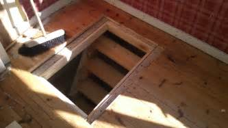 a trap door in the cabin floor laplander s lore