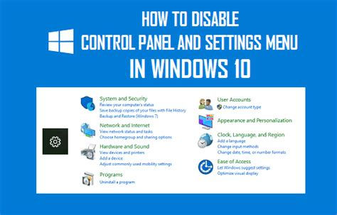 how to control windows 10 the settings guide makeuseof how to disable control panel and settings menu in windows 10