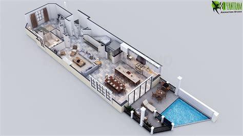 residential 3d floor plans building rendering new york residential building elevation and floor artstation awesome new 3d luxury floor plan maker for