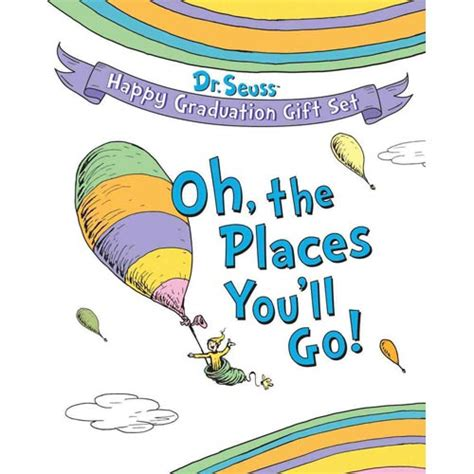 oh the places you ll go dr seuss happy graduation gift