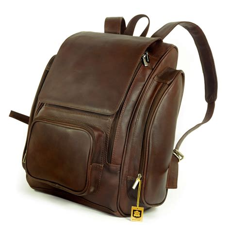 Longch Backpack Sz Large jahn tasche large leather backpack size xl laptop backpack up to 15 6 inches brown