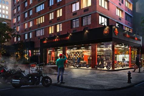 Home Design Stores Nyc by Harley Davidson Kickstarts New Music Design For Retail