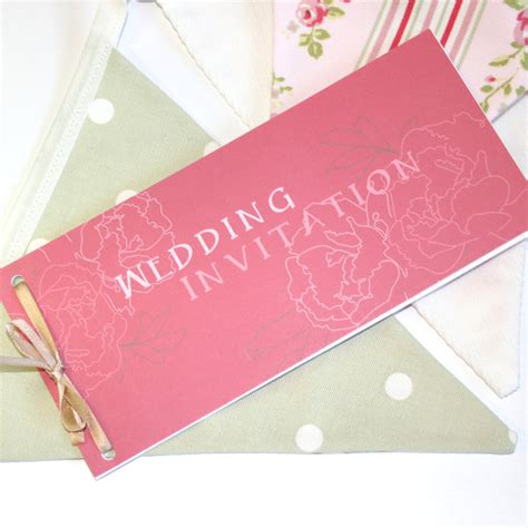 how to make a cheque book wedding invitation peonies cheque book wedding invitation by graphicembers on