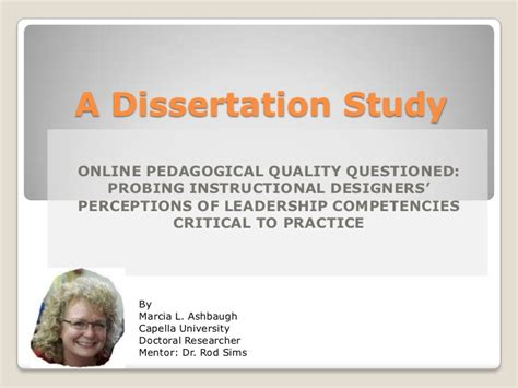 Ashbaugh Dissertation Defense Presentation Thesis Presentation Ppt