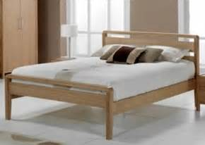 Wooden Bed Frames King Size Bed Frames You Ll Leather Wooden And Metal Frames