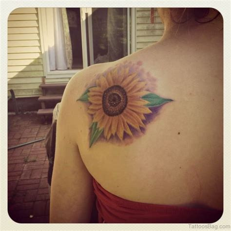71 stunning sunflower tattoos on shoulder