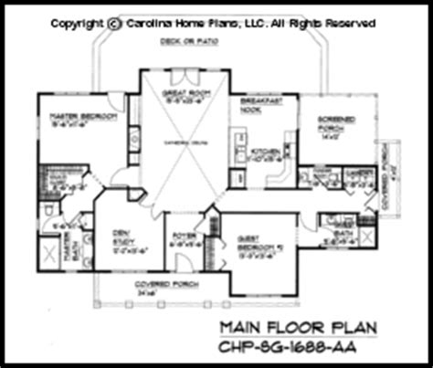 1700 square foot house plans house plan craftsman style small craftsman cabin house plan chp sg 1688 aa sq ft