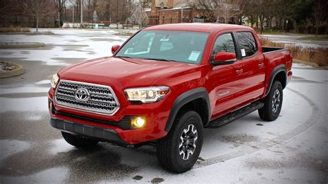motorcars toyota 2016 toyota tacoma trd road v6 review test