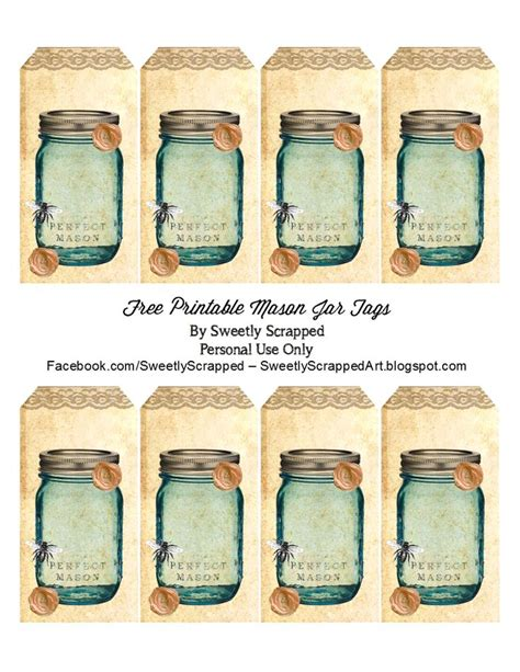 jar tags template sweetly scrapped free printable blue jar tags with