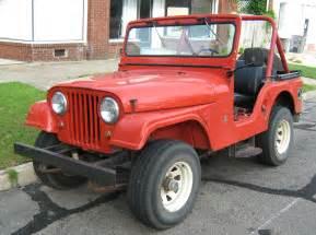 Five Jeep File Jeep Cj 5 V6 Open Jpg