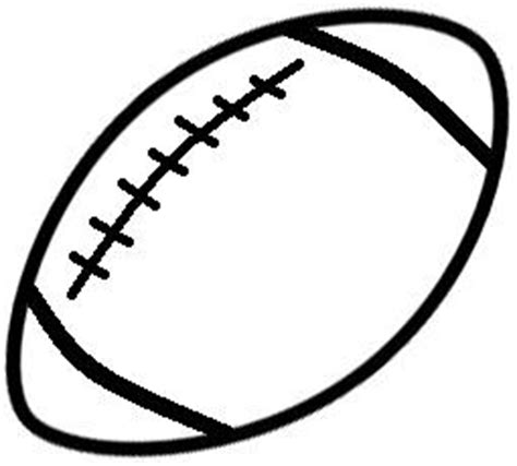 Sport Shirt American Football 06 football outline clip black and white foto