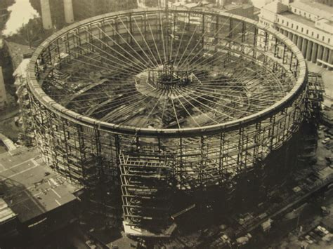 madison square garden madison square garden during construction ca 1966