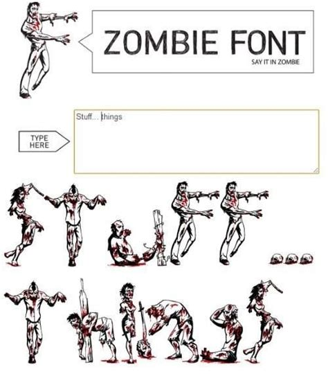 zombie tattoo fonts 17 best images about stuff on the cross wing