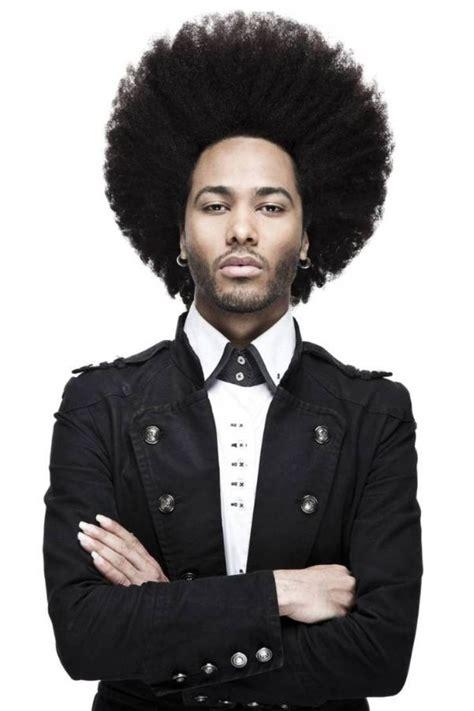 styling mens afro hair afro black men hair styles natural hair men pinterest