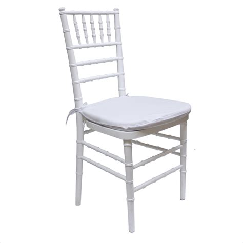 White Chair by Chiavari Chair White Barlens
