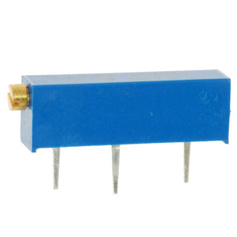 vishay trimmer resistor m43p502kb40 vishay spectrol potentiometers variable resistors digikey