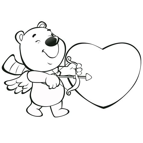 Valentine Coloring Pages Best Coloring Pages For Kids Coloring Page For