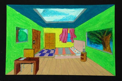 Gogh Inspired Bedroom Ms L 243 Pez In The Room