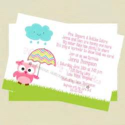 baby sprinkle invitation baby shower invitation owl