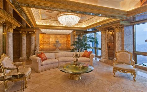 trumps penthouse inside donald trump s 100 million penthouse in new york city travel leisure