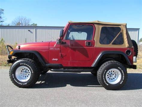 1998 Jeep Se 1998 Jeep Wrangler Se