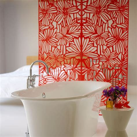 bathroom room dividers red fretwork screen room divider room dividers 10