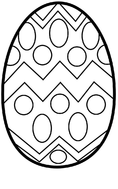 blank easter egg templates activity shelter
