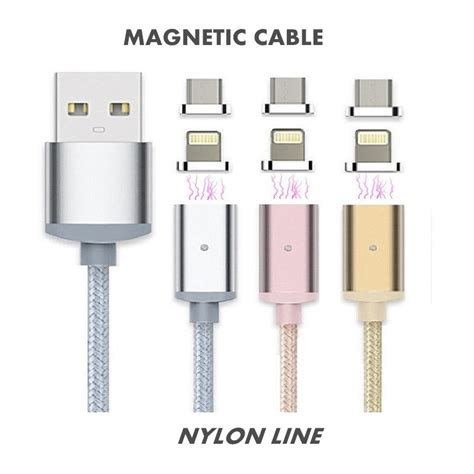 elough 2 4a fast charge micro usb magnetic cable for iphone 6 6s 5 5s connector cable for
