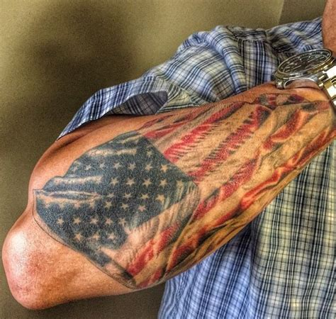 american flag sleeve tattoo pinterest flag tattoos