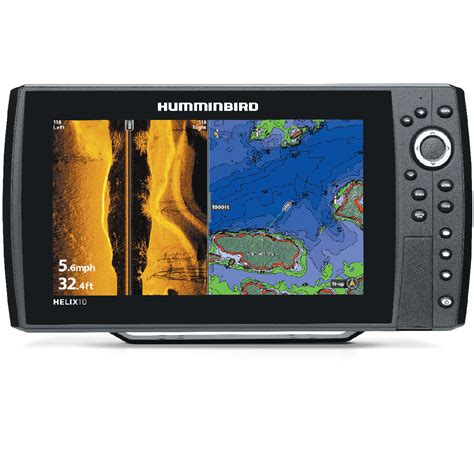 best pontoon boat gps humminbird helix 10 si gps boater s choice canada s best
