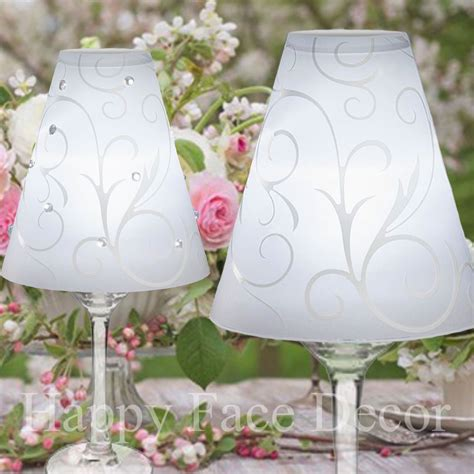 david tutera table centerpieces 36 david tutera wine glass l shades swirl vellum