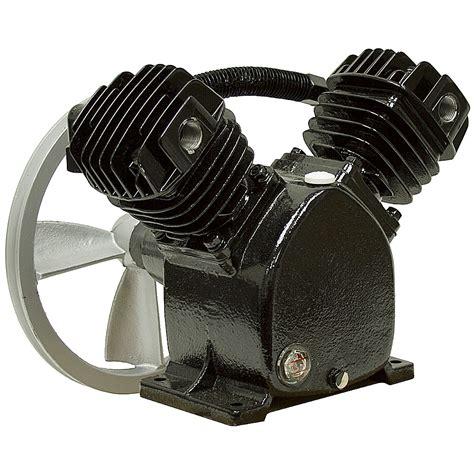 hp  twin air compressor pump belt driven compressors