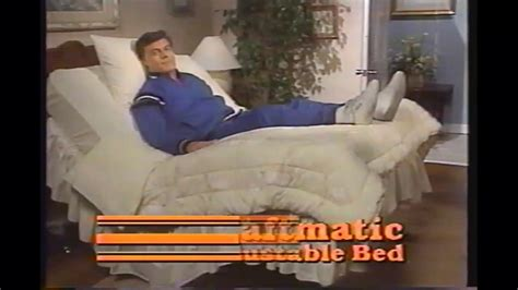 Adjustable Bed Tv Commercials Tony by Craftmatic Adjustable Bed Commercial 1997