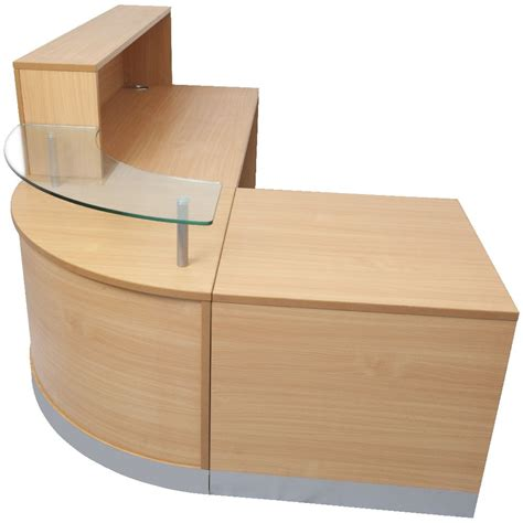 Officeworks Reception Desk Rapidline Curved Reception Counter Officeworks