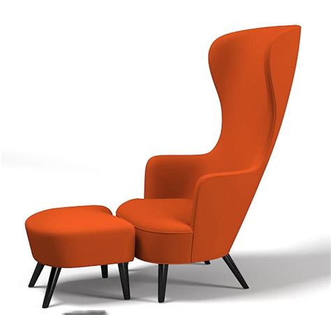 Kursi Wing Chair model kursi cantik modern kontemporer rancangan desain