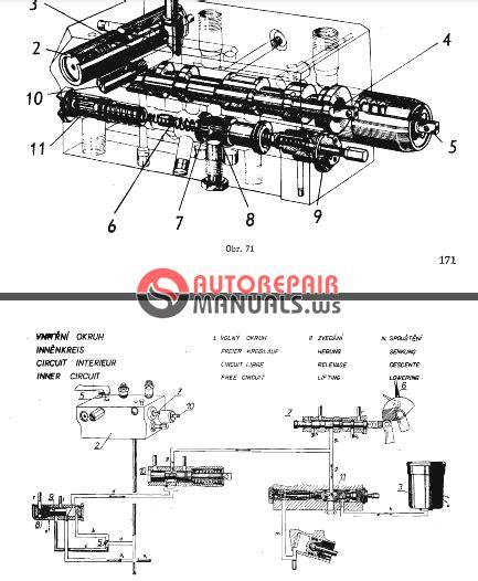 Zetor Tractor 5011 6011 6045 7011 7045 Repair Manual