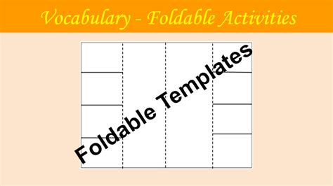 html flip book template vocabulary developmental tools gt coach
