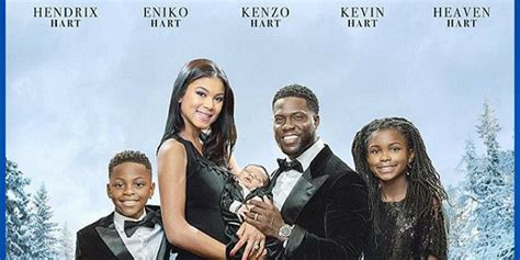 kevin hart shares adorable  style family christmas card  admitting hes   tough year