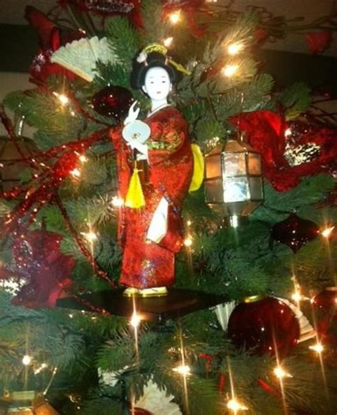 japanese themed christmas tree 37 best asian themed trees images on themed trees beautiful