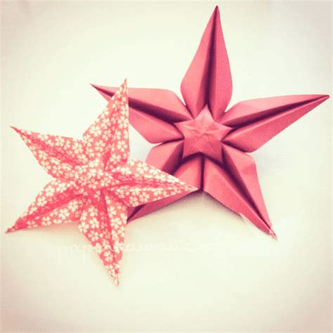 Pretty Origami Flowers - 160 best images about pentagrams on